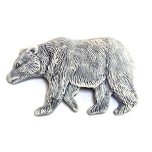Медведь бурый 3 (барельеф) / магнит