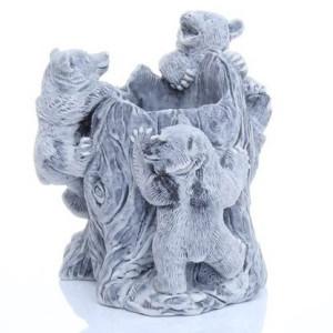 Три медвежонка (карандашница)