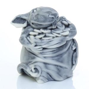 Крыс в мешке баксов (шарж)