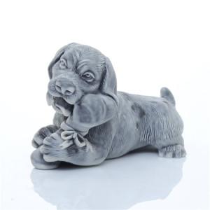 Пес с косточкой (шарж)
